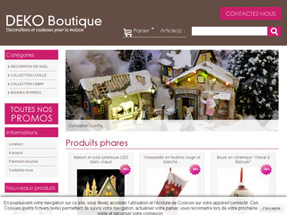 d coration de no l boutique en ligne d coration juigne. Black Bedroom Furniture Sets. Home Design Ideas
