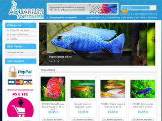 Mat riel d 39 aquariophilie boutique en ligne aquariophilie for Boutique aquariophilie