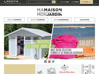 Meuble maison et mobilier de jardin boutique en ligne for Boutique jardin en ligne