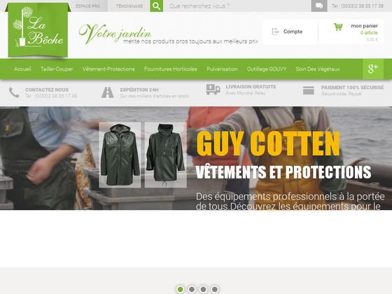Fourniture de jardin pour professionnel et particulier for Boutique jardinage en ligne